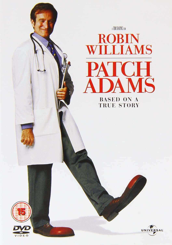 Patch Adams film, met Robin Williams