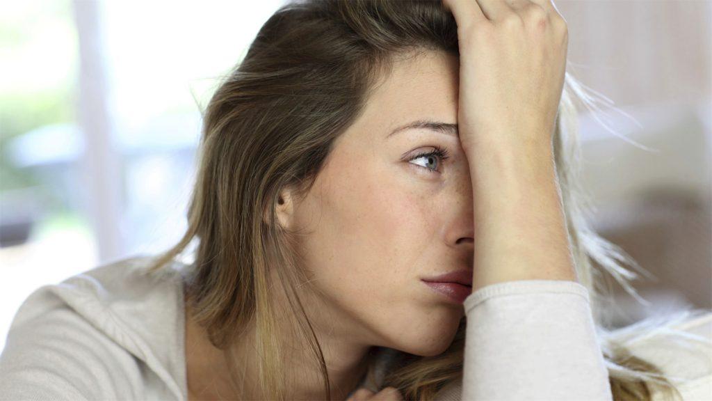 ijzertekort bij vrouw