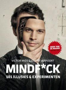 voorkant van het boek Mindfuck van Victor Mids en Oscar Verpoort