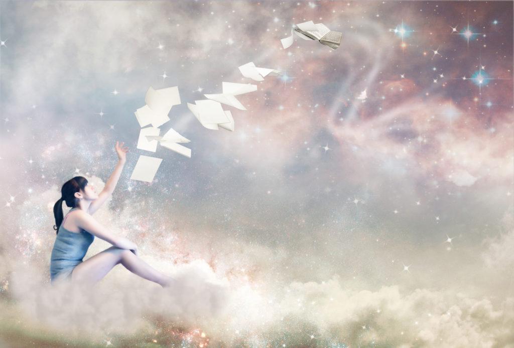 sfeer die dromen uitbeelt