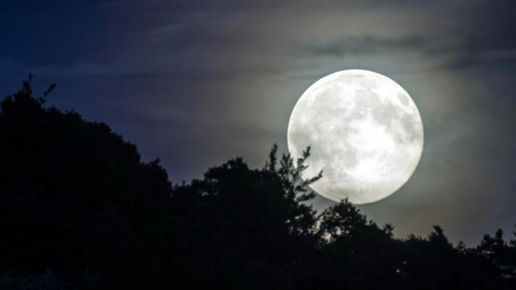 volle maan van de kortste nacht