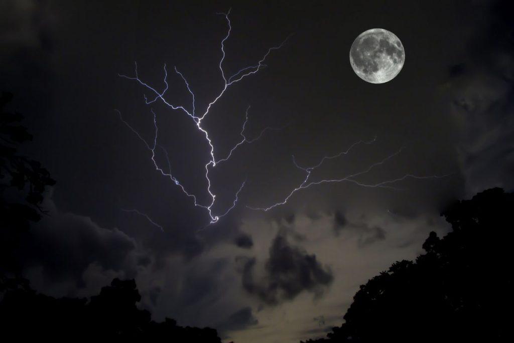 maan van het hemelvuur