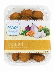 vleesvervanger zonder soja van Maza falafel