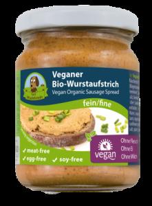 vegetarisch broodbeleg zonder soja