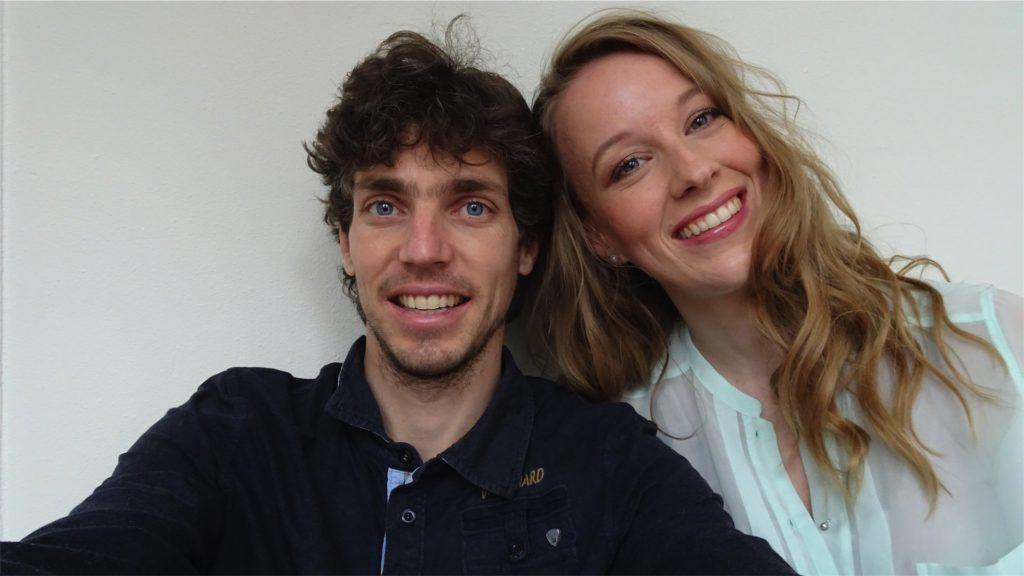 Femke de Grijs en Mathijs van der Beek