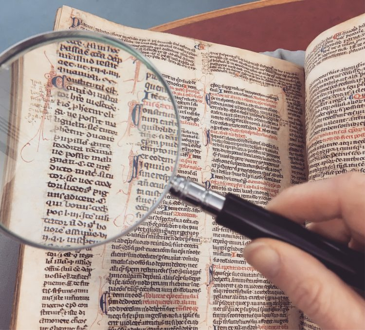 conscientieus manuscript lezen
