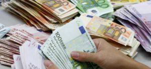 euro biljetten diverse soorten