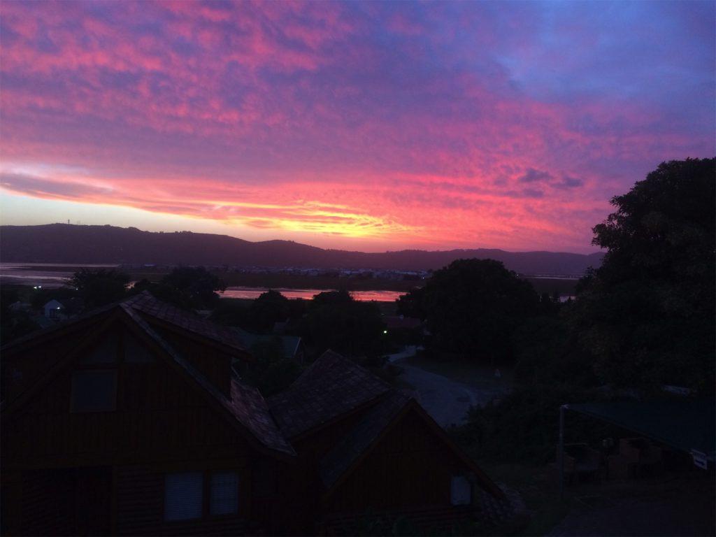 zonsondergang-knysna
