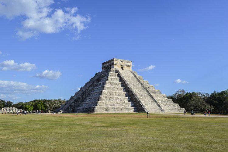 maya tempel in Mexico