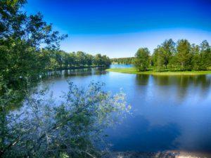 een meer in Zweden