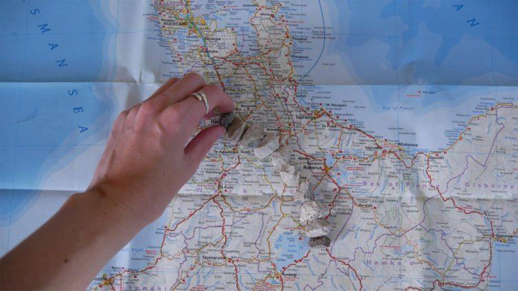 kaart nieuw zeeland