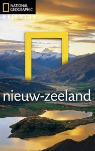 voorkant van de Reisgids Nieuw-Zeeland van National Geographic