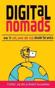 voorkant van het boek Digital nomads van Esther Jacobs en André Gussekloo