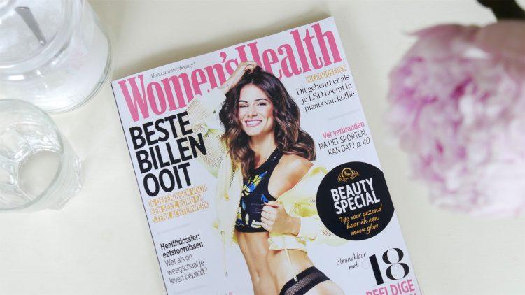voorkant van het tijdschrift Women's Health juli 2018