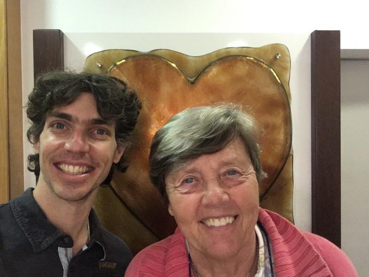 Mathijs van der Beek bij Ascension Europe met Marjan