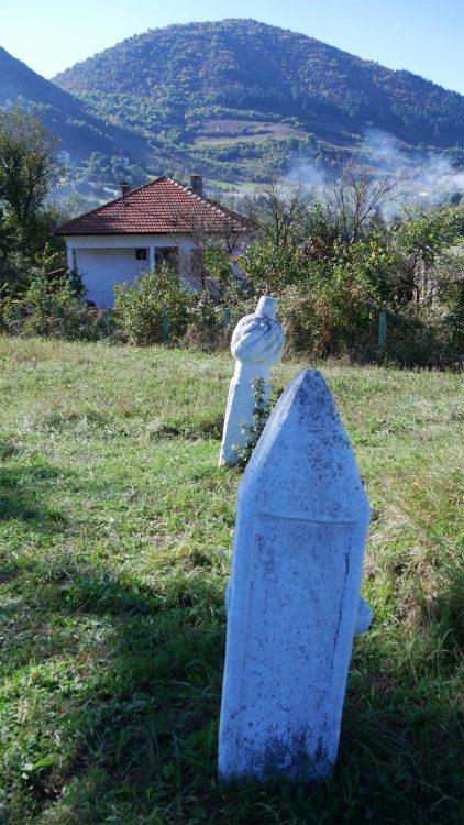 begraafplaats bij de Bosnische Piramides