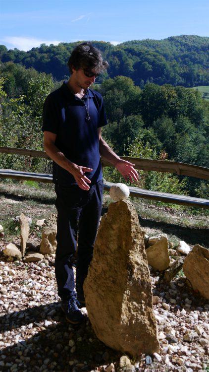 Bosnische piramide van de Draak plateau met Mathijs van der Beek