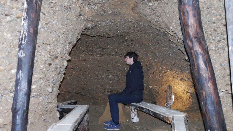 Ravne tunnels meditatie kamer