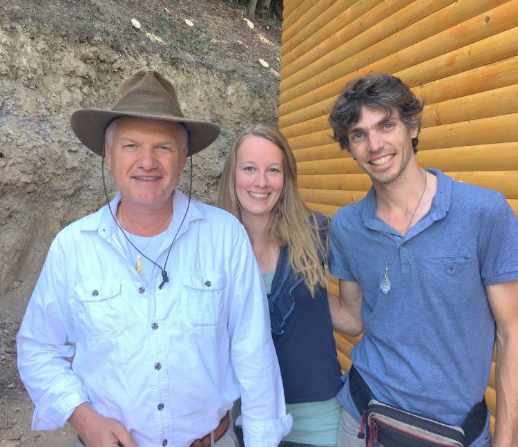 Sam Semir Osmanagic met Femke de Grijs en Mathijs van der Beek
