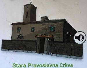 stara pravoslavna crkva audio tour bord