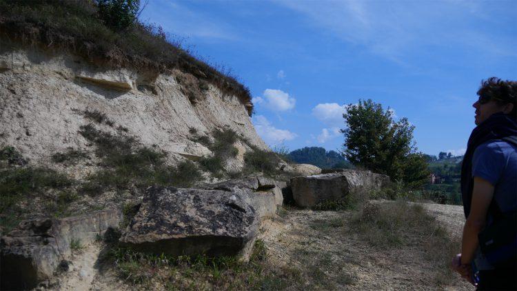 Tumulus rotsblokken, met Mathijs van der Beek