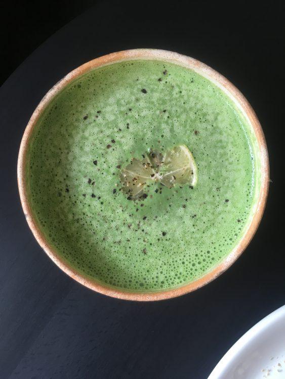 veganistische spinazie soep van Zdravo