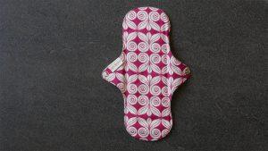 Eco Femme day pad opengevouwen achterkant