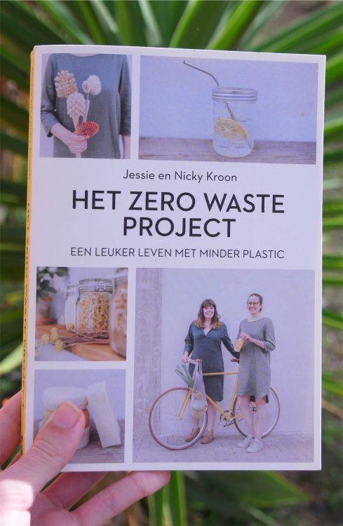 voorkant van het boek Zero Waste van Jessie en Nicky Kroon