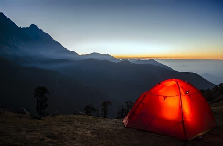 rode tent