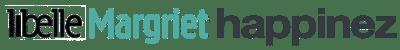 logos van Libelle, Margriet en Happinez