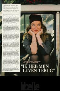"""Libelle interviewt Femke de Grijs: """"Ik heb mijn leven terug"""""""