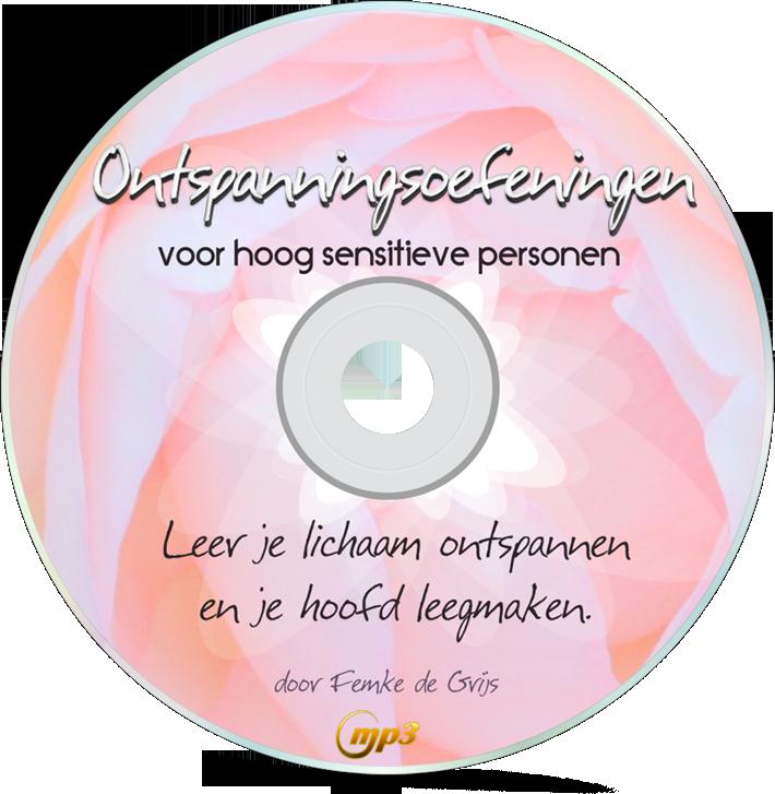 ontspanningsoefeningen voor HSP MP3 door Femke de Grijs