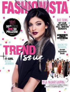 cover van het tijdschrift Fashionista waar Femke de Grijs instaat en vertelt over vitamine B12-tekort