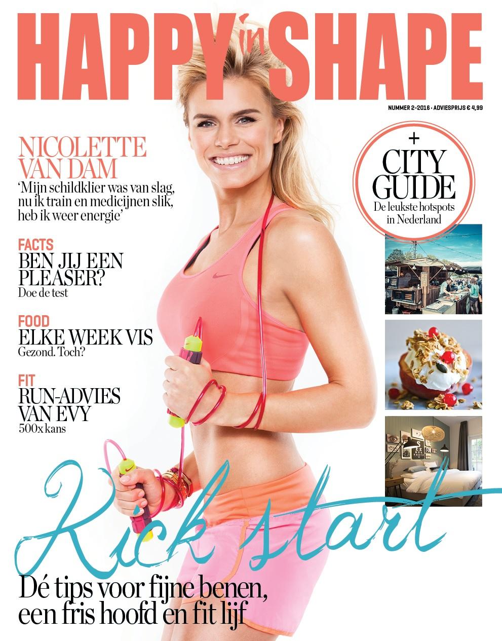 Happy in Shape interviewt Femke de Grijs over energiegevers en energievreters cover