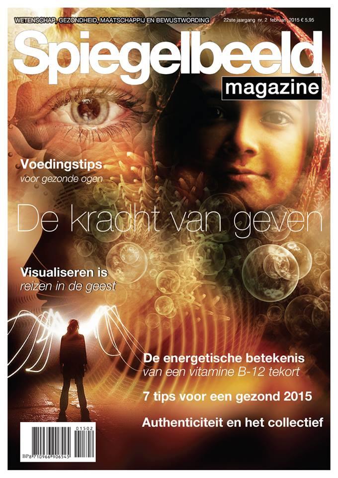 Spiegelbeeld Magazine vitamine B12-tekort deel 2 door Femke de Grijs cover