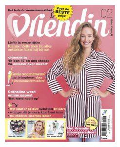Vriendin interviewt Femke de Grijs over haar bucketlist cover