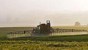 pesticiden sproeien